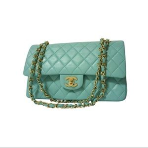 """Vintage CHANEL 2.55 Classic Flap 9"""" Ghw"""